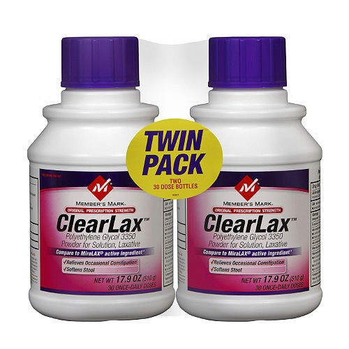 Member's Mark ClearLax - 2/17.9 oz. - CASE PACK OF 4