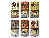 34 Degrees Cracker Variety Pack - 6 Assorted 4.5 Ounce Boxes (Toasted Onion, Poppy Seed, Natural, Rosemary & Whole Grain)