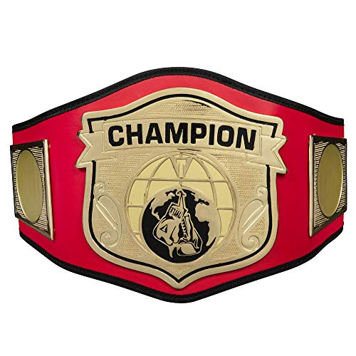 Title Boxing Universe Champion Title Belt, Red