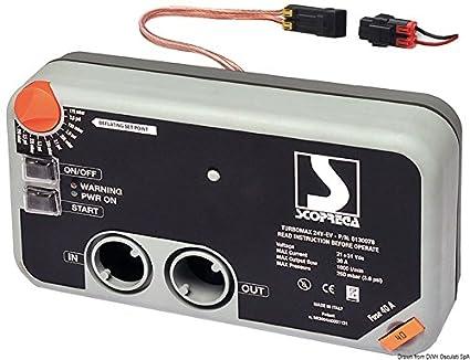Osculati Scoprega S.p.A. Turbo max Kit Inflator 24 V
