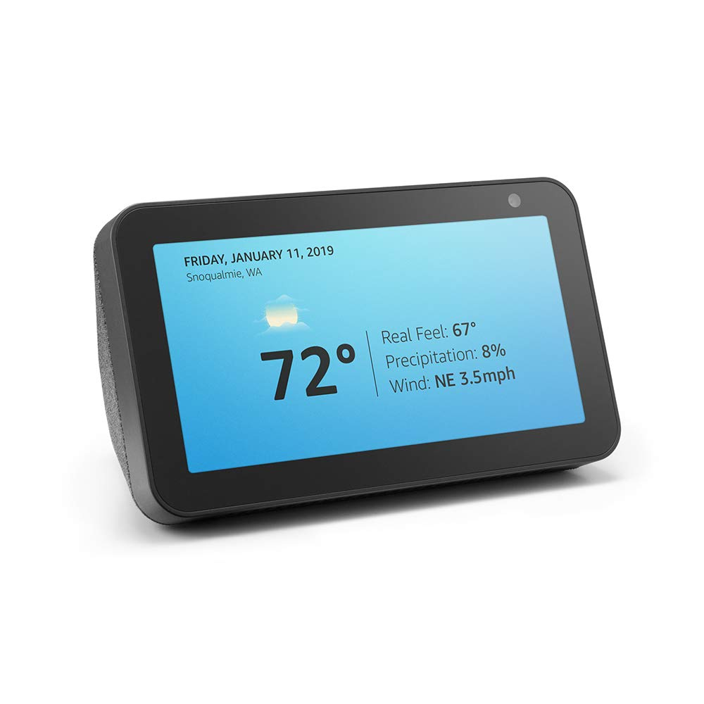 Introducing Echo Show 5 - Compact smart display with Alexa - Charcoal by Amazon