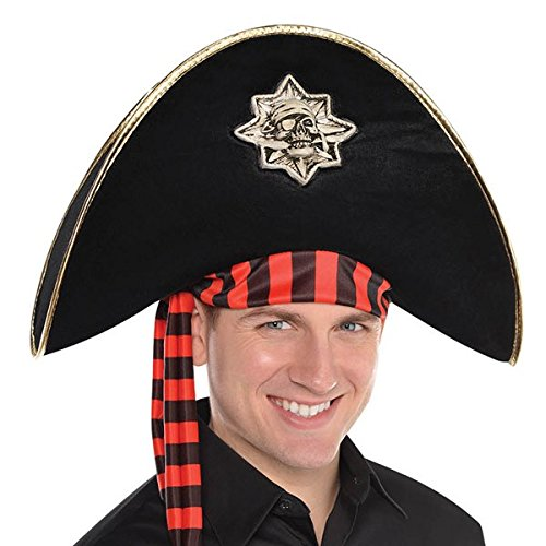 Skull and Bones Pirate Hat]()