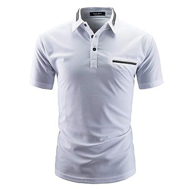 Camisa De Polo De Los Hombres Polo Camisa De De Manga Esencial ...