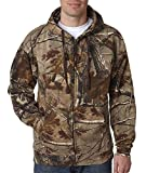 Cheap Code V Realtree Adult Camouflage Full-Zip Hooded Sweatshirt (Realtree Ap) (M)
