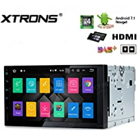 XTRONS 7 inch Android 7.1 Quad Core Multi Touch Screen Car Stereo Player GPS HDMI TPMS Built-in DSP
