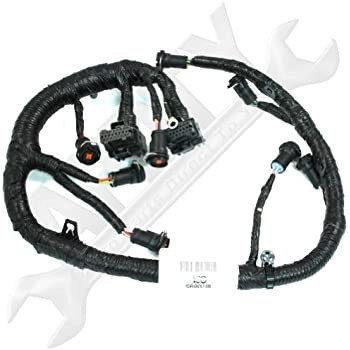 amazon.com: oe ford 5c3z12b637ba 6.0l diesel engine wire ... chevelle engine wiring diagrams