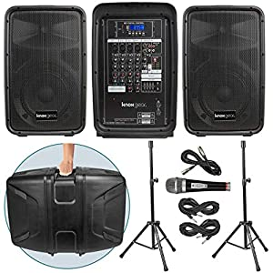 Knox Dual Speaker and Mixer Kit – Portable ...