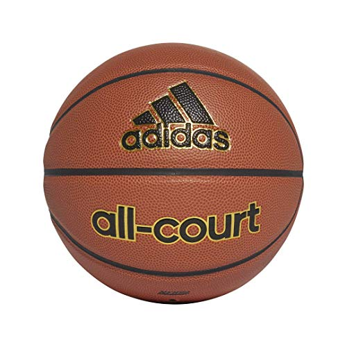 adidas All-Court Basketball, Natural/Black, Size 5