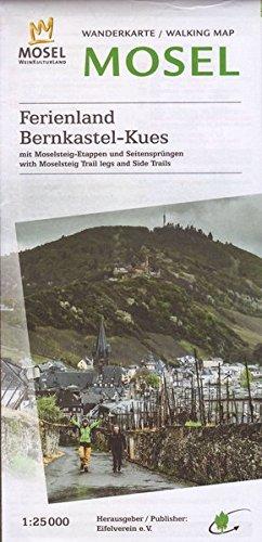 WK Bernkastel-Kues: Wanderkarte Nr. 35 des Eifelvereins (Karten des Eifelvereins) Landkarte – Folded Map, 15. Juli 2016 Eifelverein e.V. 3944620054 Rheinland-Pfalz Atlas