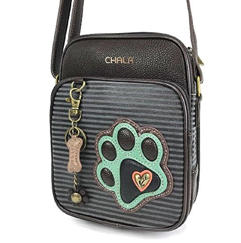 - Chala Crossbody Organizer with Paw