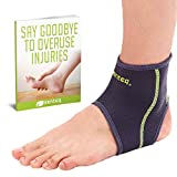 SENTEQ Ankle Brace - Provides Support, Compression and Pain Relief. Medical Grade and FDA Approved for Sprains, Strains, Arthritis and Torn Tendons in Foot and Ankle (Size Large)