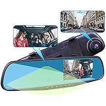 Provision-ISR Hidden Dual Dash Cam, Hidden Interior Mirror Camera and a HD 1080p Front DVR Recorder, Requires One DIY Installation, Exclusive