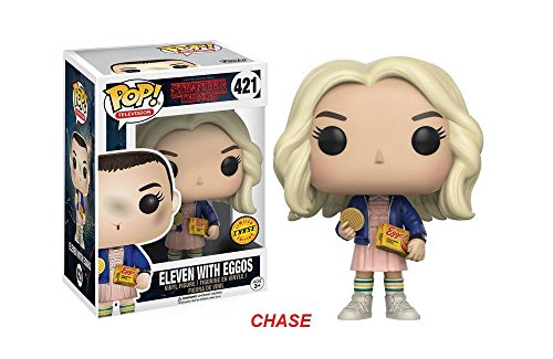 Funko POP! TV Stranger Things Eleven In Wig w/ Eggos Chase Variant Vinyl - Wig 11