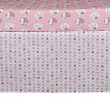 Lolli Living 121041 Pink Dots Bed Skirt
