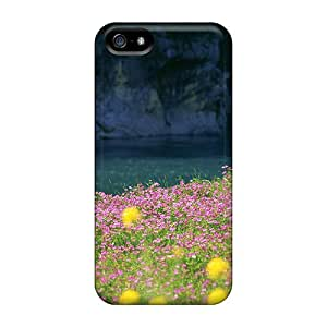 Hot Nature Fields First Grade Phone Cases For Iphone 5/5s Cases Covers