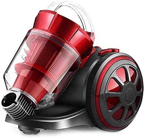 Aspiradora de Cilindro/Aspiradora silenciosa Horizontal, Cilindro sin Bolsa Potente y compacta Aspiradora con Cable Liviana de 1400W para Pisos múltiples y alfombras: Amazon.es: Hogar