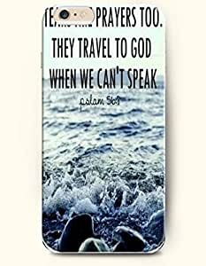 iPhone 6 Case,OOFIT iPhone 6 (4.7) Hard Case **NEW** Case with the Design of Tears are prayers too. They travel to God when we can't speak Psalm 56:8 - Case for Apple iPhone iPhone 6 (4.7) (2014) Verizon, AT&T Sprint, T-mobile