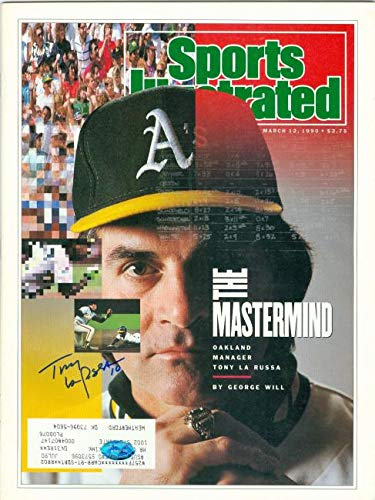 Autograph Warehouse 376916 Tony Larussa Autographed Magazine by Autograph Warehouse