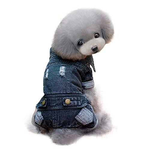 Dog Coat,Laimeng,2016 New Pet Dog Puppy Winter Supplies Apparel Clothing Costume Jacket (S, Black) (Dog Clothing Stores)