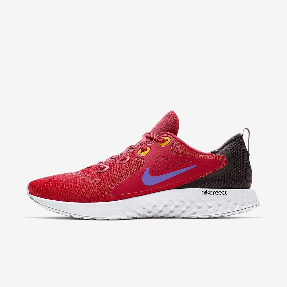 MultiCouleure (University rouge Hyper Grape noir 000) Nike Legend React, Chaussures d'Athlétisme Homme 42 EU
