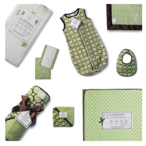 SwaddleDesigns Essentials Set Chocolate Brown product image