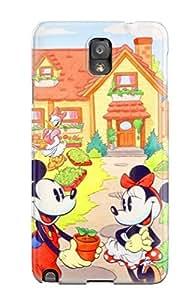 New Premium Flip Case Cover Disney Skin Case For Galaxy Note 3