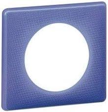 plaque legrand c/éliane 1 poste violet 90s