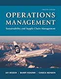 img - for Operations Management: Sustainability and Supply Chain Management Plus MyLab Operations Management with Pearson eText -- Access Card Package (12th Edition) book / textbook / text book