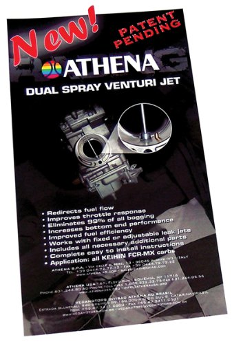 Athena Dual Spray Venturi Jet Kit for Keihin FCR-MX Carburetors ()