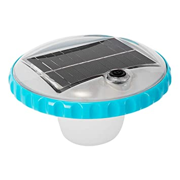 Intex 28695 - Luz LED flotante de carga solar para piscinas: Amazon.es: Jardín