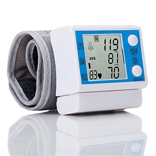 Preup Wrist Blood Pressure Monitor with Cuff Automatic La...