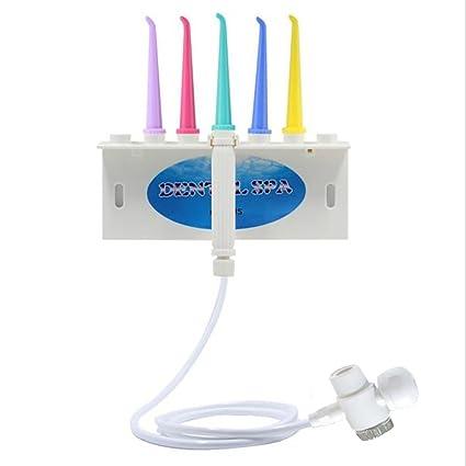 Uniqstore Irrigator Gum Spa Dental de inyección de agua hilo dental dientes flossing cepillo de dientes