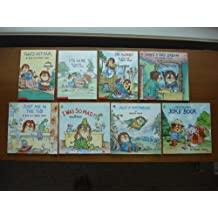 Little Critter Set of 8 Picture Books (That's Not Fair ~ It's Mine ~ I'm Sorry ~ I Was So Mad ~ Little Critter's Joke Book ~ Just A Daydream ~ What a Bad Dream ~ Just Me in the Tub)