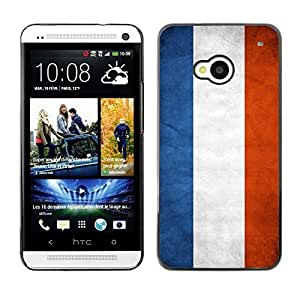 Shell-Star ( National Flag Series-Netherlands ) Snap On Hard Protective Case For HTC One (M7) Kimberly Kurzendoerfer