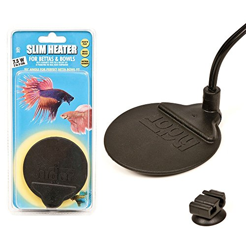 Hydor slim heater for bettas bowls and aquariums for Fish bowl heater