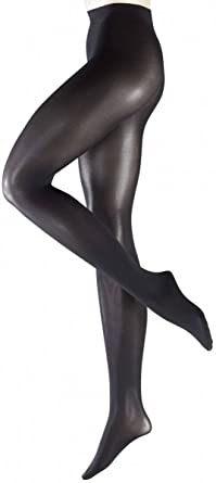 ff55acf92c4a6 Image Unavailable. Image not available for. Colour: Falke Womens Pure Shine 40  Denier Semi-Opaque Shining Tights - Black