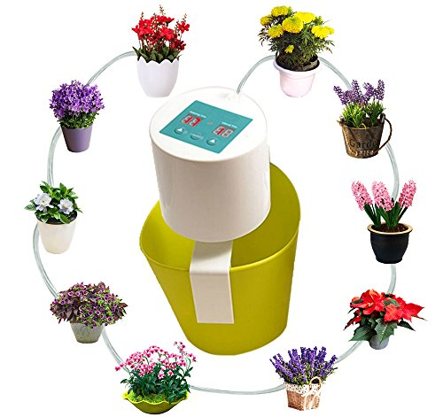 [Automatic Plant Watering Vacation Holiday flower Waterer Self Drip Irrigation System with 10m Tube Kits for Home or Office Potted Plants] (30 Second Costumes)
