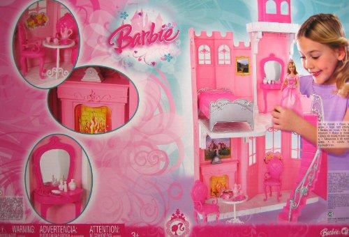 Barbie Princess CASTLE Playset (2008 Mattel Canada) (Canada Playsets)