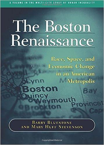 Livres audio gratuits à télécharger pour ipod The Boston Renaissance: Race, Space, and Economic Change in an American Metropolis (French Edition) PDF 0871541262