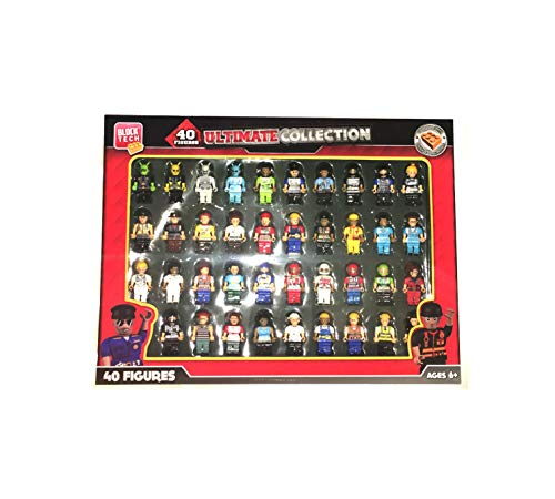 - Block Tech 40 Figure Ultimate Collection Compatible with Other Leading Brands