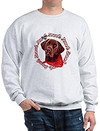 Chocolate Lab Christmas - Classic Crew Neck Sweatshirt