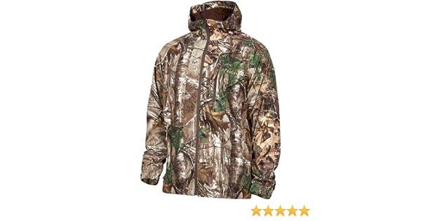 c3845244c6867 Amazon.com : Rocky Men's Silent Hunter Rain Jacket : Athletic Outerwear  Jackets : Clothing