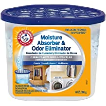 Arm & Hammer FGAH14 14 Moisture Absorber & Max Odor Eliminator Tub, 14 oz