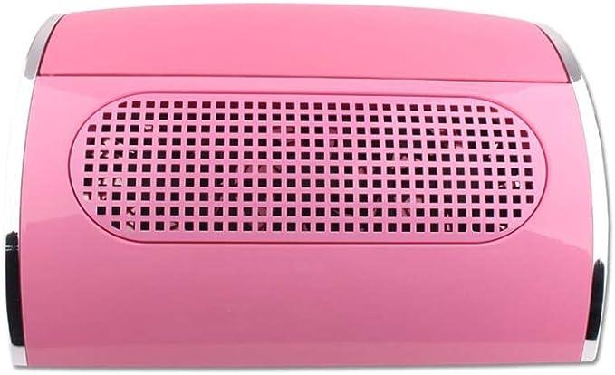 Aspirador uñas de manicure Con 3 Motores y Aspiradores con bolsa Aspirador para Polvo de Uñas, Pink: Amazon.es: Belleza