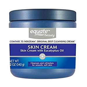 Deep Cleansing Skin Cream by Equate 12oz Compare to Noxzema Original Deep Cleansing Cream