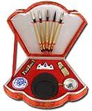 Gifts Of The Orient GOTO® - Escritura Caligrafía China Establece En Abanico (F538)
