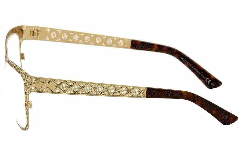 286514b026 Amazon.com  GUCCI Eyeglasses 4267 0J5g Gold 54MM  Shoes