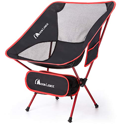 MOON LENCE Ultralight Camping Chairs Folddable...