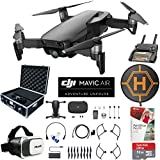 DJI Mavic Air Drone Combo 4K Wi-Fi Quadcopter with Remote Controller Pro Photo Edit Bundle With Hard Case VR Goggles Landing Pad 32GB Memory Card 16GB Drive And Corel Pro X9 (Onyx Black)
