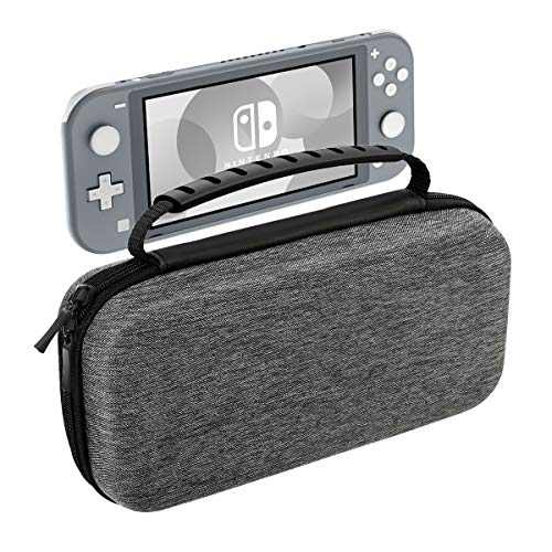 MoKo Carrying Case Compatible with Nintendo Switch Lite, Travel Case Hard Shell EVA Tough Storage Bag Holder Compatible…